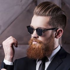 The undercut is one of the best hairstyles with a beard.