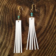 Hey, I found this really awesome Etsy listing at https://www.etsy.com/listing/243739811/natural-leather-earrings-white-earrings