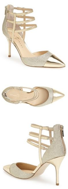 Gorgeous gold pointy-toed pumps @nordstrom http://rstyle.me/n/pmxkvnyg6