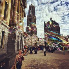 STADSLICHT - Fotoserie van de stad Utrecht door Kees Wennekendonk.