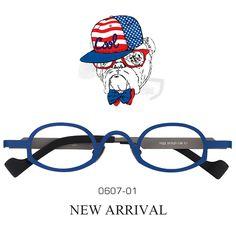 9ec0d8ad0c0 Cecil Oval Blue Titanium Glasses TI0607-01 Titanium Glasses