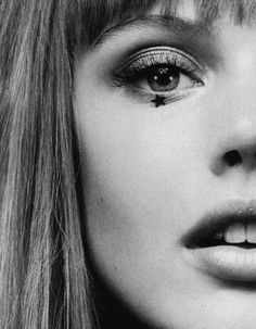 """Frida Gustavsson in """"Seeing Stars"""" for Vogue UK by Lachlan Bailey"""