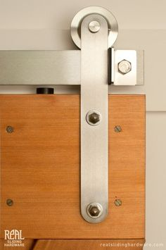 Barn Door Hardware by Real Sliding Hardware, Stainless Prop