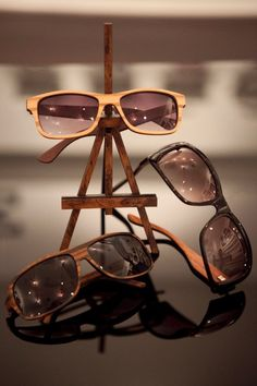 In love with these amazing W♥♥D frames spotted at Unique LA by Sires Crown