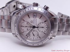 Omega Speedmaster Auto Chronograph Mens Watch 3211.3.00 Calibre 1164 Box Papers #Omega #LuxuryDressStyles
