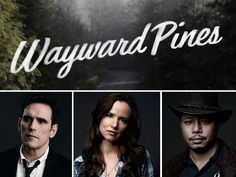 Wayward Pines Cast Photos Released!