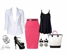 #professional #fashion #style #pink