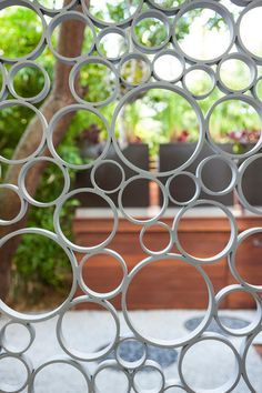 Image result for gates made from circles
