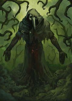 God of Pestilence, Disease. Symbol is a Pale Horse Head. Dark Fantasy Art, Fantasy Artwork, Dark Art, Arte Horror, Horror Art, Fantasy Character Design, Character Art, Horsemen Of The Apocalypse, Arte Obscura