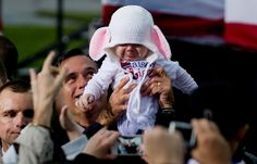 Romney and crying baby