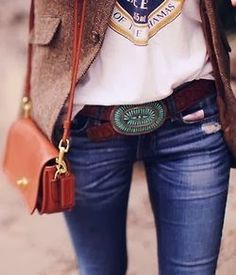 Jeans and a T-shirt Up-Styled