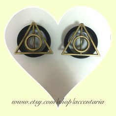 Deathly hallow tunnel plugs