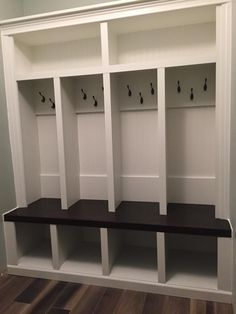 Mudroom Lockers With Bench Built Ins.Hand Made Mudroom Built Ins By Albert S Grant Fine . Built In Mudroom Lockers. 4 Cubby Mudlocker Mudroom Entranceway Bench Built In Mud . Home and Family Cubby Storage, Bench With Storage, Locker Storage, Garage Storage, Entryway Storage, Garage Entryway, Mudroom Cubbies, Mudroom Laundry Room, Basement Shelving