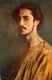 Domenico Baccarini - Autoritratto - (1882 - 1907)