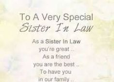 Sister In Law Poems Free Coaster Sister In Law Poem Flowers