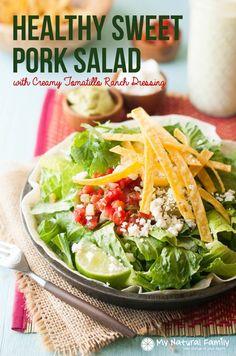 Crock Pot Cafe Rio Salad