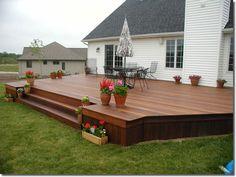 Image result for simple deck designs