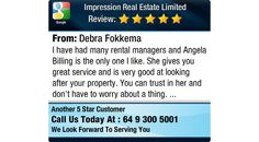 I have had many rental managers and Angela Billing is the only one I like. She gives you...