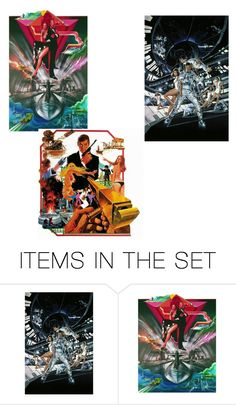 """""""James bond"""" by dolly-eye on Polyvore featuring art"""