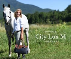 the new CITY LUX M with interchangeable flaps to change your style by the day or season! Equestrian Chic, New City, Horses, Change, Leather, Shopping, Horse
