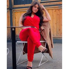 54aecd069fb9f Jumpsuit from Fashion To Figure. Dee Williams · Plus size fashion