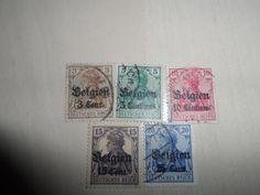 1916 German Empire Postage Stamps. Start Price 0.99