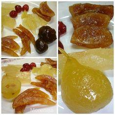 LA COCINA DE MORENISA: Como Preparar Fruta Confitada Jam Recipes, Fruit Recipes, Mexican Food Recipes, Sweet Recipes, Dessert Recipes, Delicious Fruit, Tasty, Yummy Food, Sweet Cooking