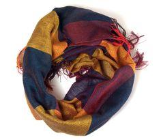 Liz handwoven cotton scarf | Amber Kane