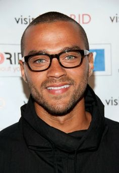 Miss Spectacles: Jesse Williams Wearing Glasses