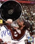 "Mounted Memories Colorado Avalanche Patrick Roy Autographed 8"" x 10'' Photo"