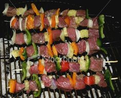 Shish-kabob - great for the gril