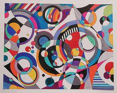 Eye Candy 3 abstract geometric painting by famous American artist Bruce Gray. Geometric Artists, Abstract Geometric Art, Geometric Shapes, Abstract Landscape, Famous Art, Wassily Kandinsky, Elements Of Art, Art Plastique, Abstract Photography