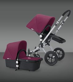 I know they're expensive but these strollers are just the best of the best and so versatile. Bug-a-boo!
