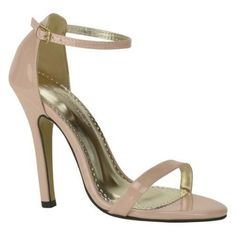 """The Johnathan Kayne Judith Ankle-Strap Sandal is pared-down elegance at its best. Features 2-piece sandal with covered heel Adjustable buckled ankle strap. Heel Height: 3 3/4"""" Fit: True to Size Upper:"""
