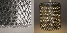 the3Rsblog Soda Can Tab Light Small - Some very cute ideas for lamps