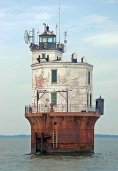 Smith Point Lighthouse, Virginia at http://Lighthousefriends.com