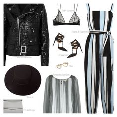 """Untitled #2236"" by amberelb ❤ liked on Polyvore featuring Dolce&Gabbana, Aquazzura, Junya Watanabe, Yves Saint Laurent, Eddie Borgo, Temperley London and Brixton"