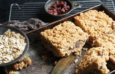 Sauce Magazine - Companion's Granola Bars - This recipe is on, like Donkey Kong -- Jenna and the kids would likely love this!