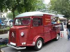 Citroën HY food truck, Crêperie, Baden Baden