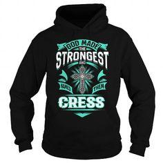 I Love CRESS CRESSYEAR CRESSBIRTHDAY CRESSHOODIE CRESS NAME CRESSHOODIES  TSHIRT FOR YOU T shirts