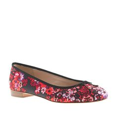 Kiki printed ballet flats - A Very Secret Pinterest Sale: 25% off any order at jcrew.com for 48 hours with code SECRET.