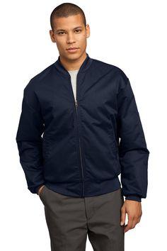 Jacket, durable, left sleeve pocket at True to Size Apparel online. Buy wholesale Red Kap CSJT38 custom & plain team style jackets.