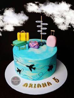 Birthday Cake For Him, 18th Birthday Cake, Themed Birthday Cakes, Themed Cakes, Buttercream Cake, Fondant Cakes, Cupcakes, Cupcake Cakes, Bithday Cake