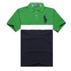 Ralph Lauren Men's Striped Crest Short Sleeve Polo Shirt Green http://www.hxzyedu.cn/?blog=ralph+lauren+polo+outlet
