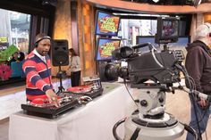 So excited to be joining our friend, DJ IRIE tomorrow morning on Good Morning America to kick off NBA All-Star Weekend!