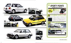 1984 トヨタ スターレット(EP71/NP70型) 308 Gti, Toyota Racing Development, Toyota Starlet, Lexus Cars, Japanese Cars, Rally Car, Old Cars, Cars And Motorcycles, Vintage Cars
