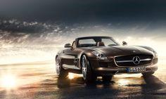 Mercedes-Benz SLS AMG Roadster. Fuel consumption combined: 13,2 l/100km, CO2 emissions combined: 308 g/km. #MBCars