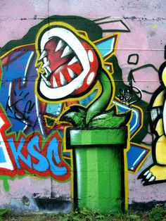 Super Mario Bros Graffiti Street Art 3 by xXxRangerxXx on DeviantArt