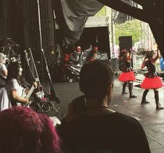 "BABYMETAL @Rock On The Range 2015   KOBA??   by smunixon ""Rock on the Range Respect the BABYMETAL!! #metal #rock #columbus #DanceMoves #CorpsePaint"" https://instagram.com/p/2wiMfCscYf/?taken-by=smunixon"