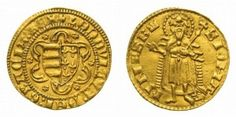 Hungarian King Louis the Great ducat gold coin. Gold Coins, Hungary, The Past, Take That, King, Personalized Items, Pictures, Travel, Money